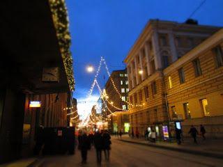 Helsinki blogi: Joulukatu Aleksilla13.12.