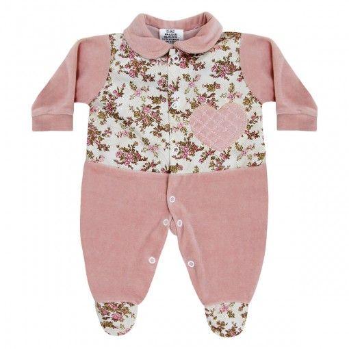 Macacão para Bebê em Plush    764 Kids Loja Online 252e52ac4a9