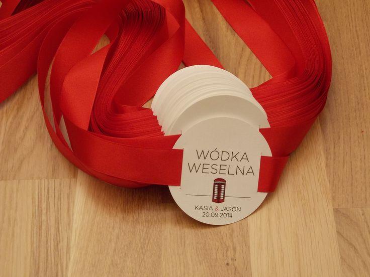 Robimy Śluby, oryginalna poligrafia ślubna,  etykiety na alkohol http://robimyslubyblog.wordpress.com