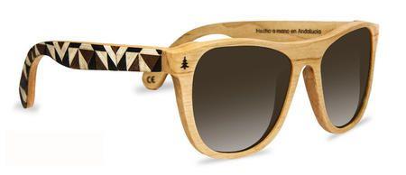 Gafas de sol de madera hechas a mano y 100% ecológicas