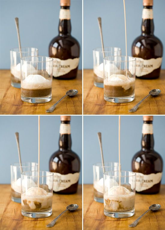 Bourbon Cream Root Beer Floats...hmmmm...