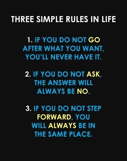 simple rules keeping interested
