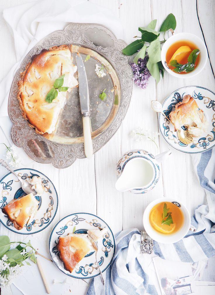 OLYMPUS, apple pie, food photoraphy , food styling , on the table , spring cake , яблочный пирог, фудфто, фуд стайлинг, фото еды, food blog