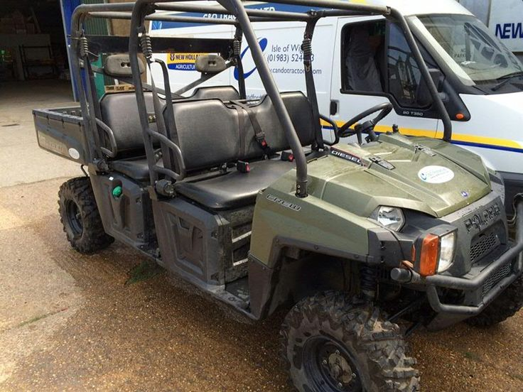 Polaris Crew 900 Diesel - second hand at C&O Tractors. £6500. November 2014