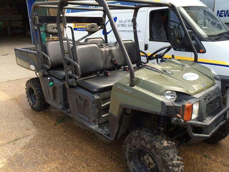 Polaris Crew 900 Diesel - second hand at C&O Tractors. £6500. November 2014