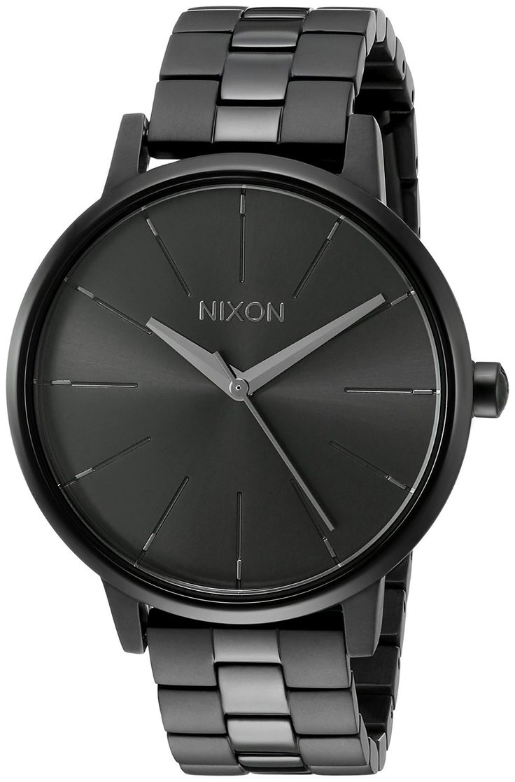 Nixon Women's A099001-00 Kensington Analog Display Japanese Quartz Black Watch >>> Read more reviews of the watch by visiting the link on the image.