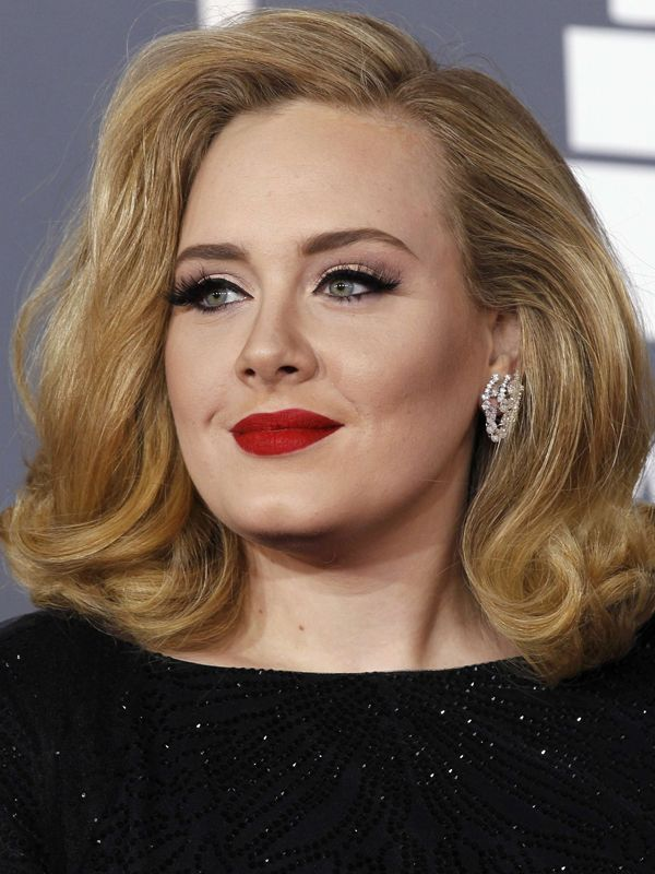 "adele makeup from the grammy's red carpet.....""nevermind I'll find someone like you."" ~Adele"
