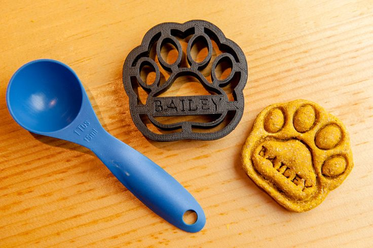 Dog Bone Cookie Cutter Custom Treat Personalized by NameThatCookie