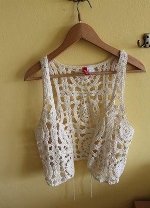 Kup mój przedmiot na #vintedpl http://www.vinted.pl/damska-odziez/kamizelki/3592920-modna-dziergana-kamizelka-zwiewna-narzutka