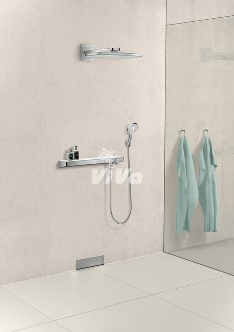 Hansgrohe Rainmaker Select hlavová sprcha s prípojným ramenom a ShowerTablet Select