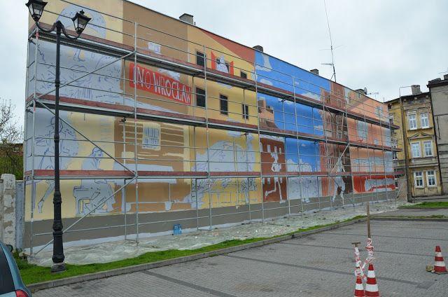Kroniki Inowrocławskie: Mural.......co nam zaprezentuje
