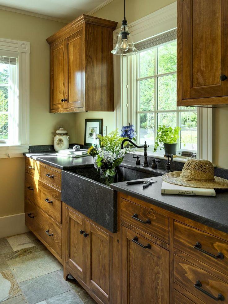 Best 25 Farmhouse kitchen cabinets ideas on