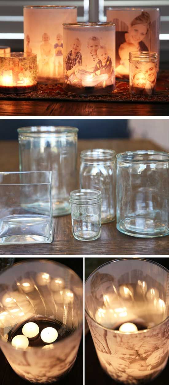 Glowing Photo Luminaries | DIY Christmas Gifts for Family Inexpensive | Handmade Christmas Gifts for Friends