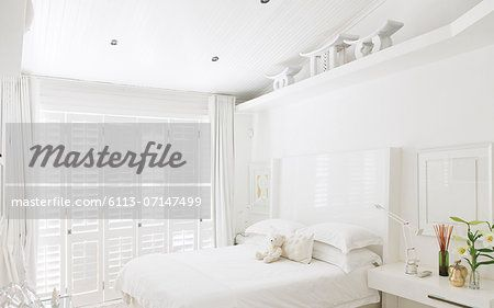 White bedroom – Image © Masterfile.com: Creative Stock Photos, Vectors and Illustrations for Web, Mobile and Print