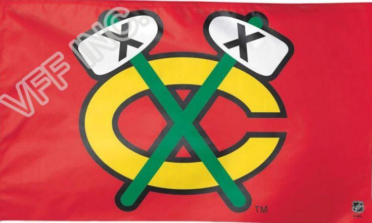 Чикаго Блэкхокс НХЛ Национальная Хоккейная Лига Флаг 3ft x 5ft Полиэстер Баннер Летающий 150*90 см Пользовательский флаг спорт шлем CB6