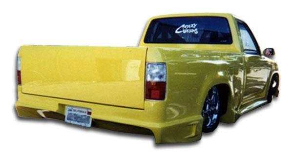 1996-2000 Toyota Tacoma Duraflex Drifter Rear Bumper Cover - 1 Piece (Overstock)
