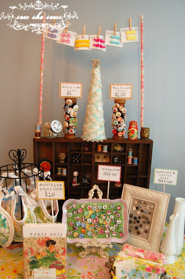 Craft Market Display