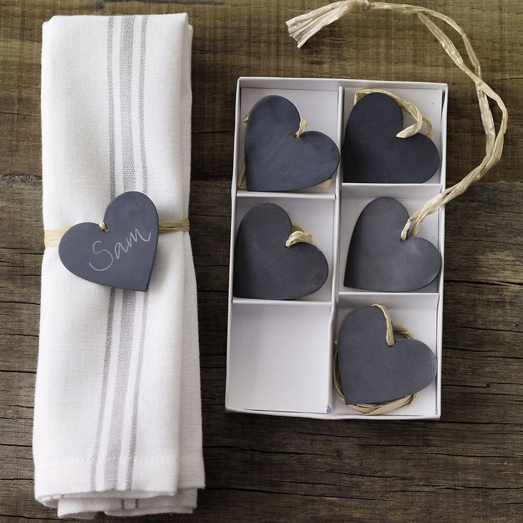 Cute zinc hearts from the White Company. I have a real weak spot for this shop!