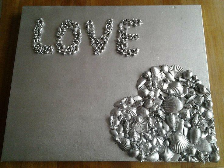 Love met schelpen