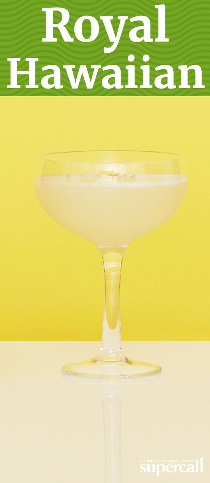 The cocktail combines gin with fresh pineapple juice, lemon juice and orgeat into a frothy, fruity (but not too sweet) island drink.