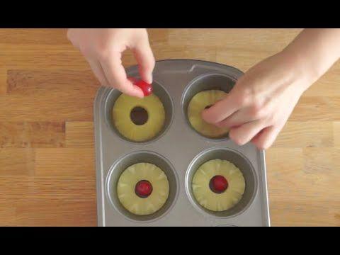 Renversé à l'ananas, presque trop simple à faire ! Attendez de voir le résultat... - Trucs et Astuces - Ma Fourchette