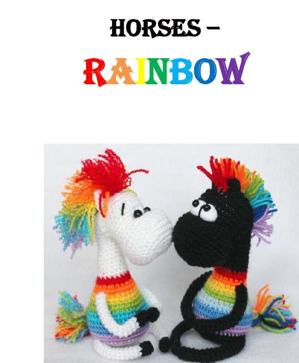 Amigurumi Pony Tutorial : 1000+ ideas about Crochet Horse on Pinterest Crochet ...