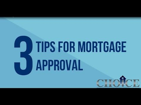 Choice Mortgage Bank team gathered the three best tips for mortgage approval. Get started on the pre-approval process with Emmanuel St. Germain of Choice Mortgage Bank today!