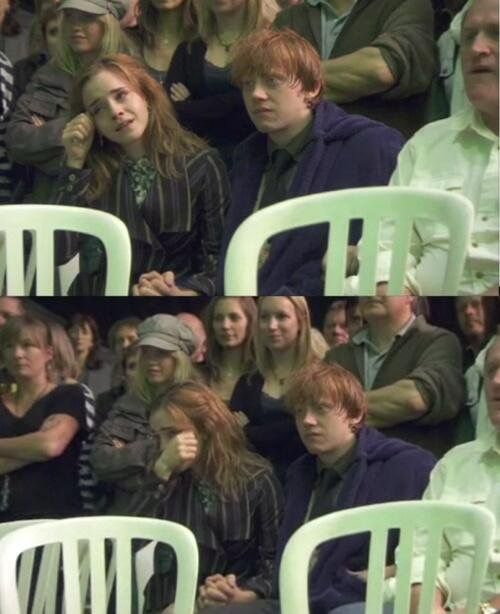 I think this is Rupert and Emma watching the finial scene or something