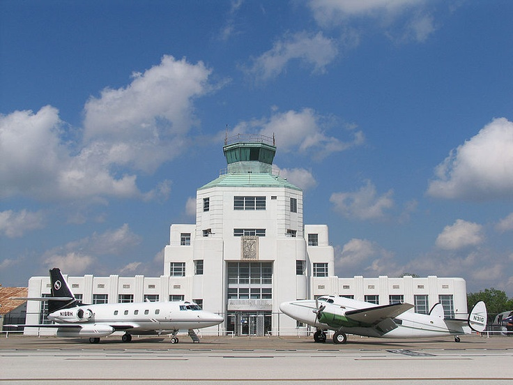 The 1940 Air Terminal Museum is a museum located in Houston, Texas, United States at William P. Hobby Airport. Collections are housed in the original art deco building which served as the first terminal for passenger flight in Houston.[1] The museum currently exhibits several collections focusing on Houston's commercial aviation history and is operated by the Houston Aeronautical Heritage Society