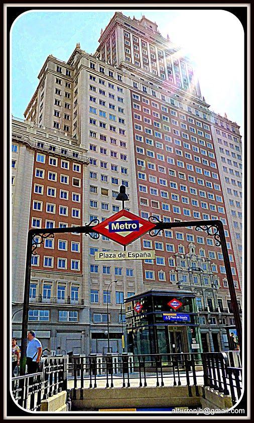 Madrid Metro a Metro #Plaza de España - Foto: Javier Heras M.