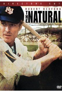 The Natural (1984) - Robert Redford, Robert Duvall and Glenn Close . Robert Redford is so gorgeous!