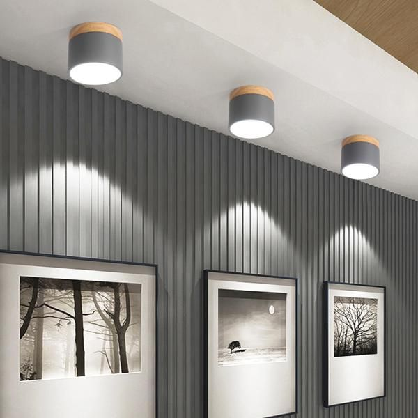 Nordic Ceiling Lights Modern Porch Aisle Corridor Led Ceiling Lighting Fixtures Cheap Ceiling Lights Ceiling Lights Wood Ceiling Lamp #no #ceiling #light #in #living #room