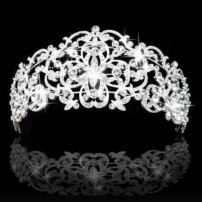 2014 yeni varış şık yapay elmas taç taç İl Güzellik Kalp Kristal Düğün Gelin Saç Takı Gelin Partisi ccc02
