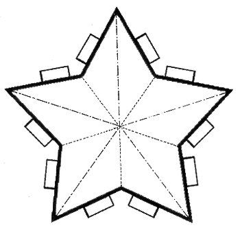 parol star coloring sheet - Google Search