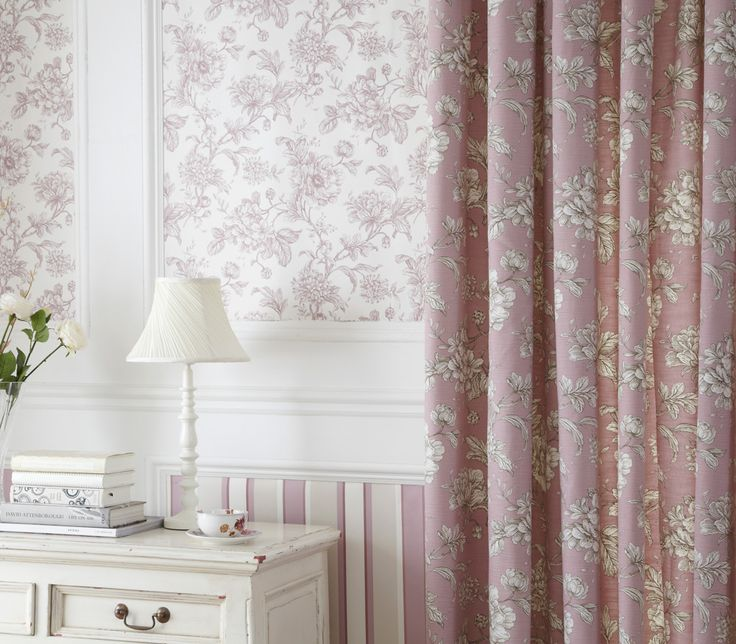 iLiv Aquitaine Curtains - Inspired by the elegant and classical styling of regions in France, the Aquitaine fabric comprises beautiful Toile styled floral prints; To bring out the best in your home!