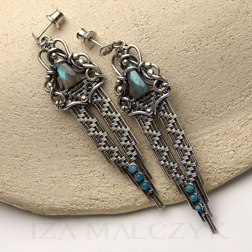 Iza Malczyk Autorska biżuteria srebrna Galeria artystyczna | Gallery of artisan silver jewellery