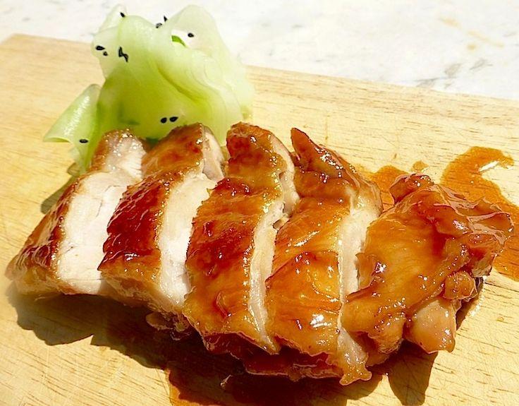 Teriyaki sauce with chicken