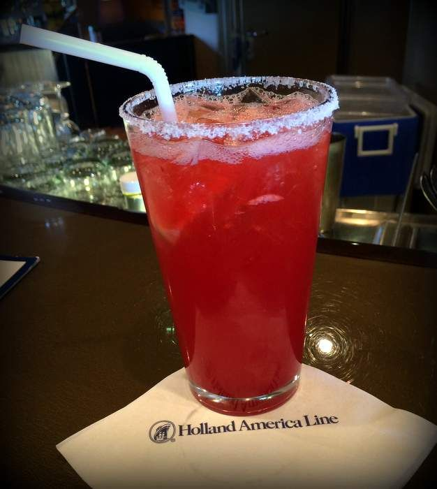 Holland America -- Signature Drink Package review -- details, menu photos and more