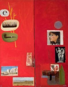 Simon Stone - A Retrospective Exhibition (Artwork entitled 'Comb on Pipe,' 2011, Oil on Board) #StandardBank #Gallery #Art