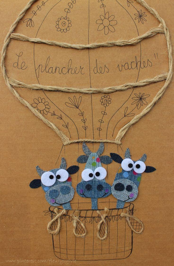 http://www.toutpetitrien.ch/collec/ et https://pinterest.com/fleurysylvie/mes-creas-la-collec/ Vive le plancher des vaches !#jeans #recycle