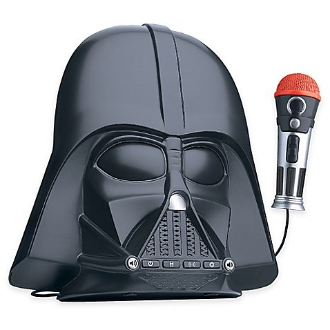 Star Wars™ Darth Vader™ Voice-Changing Boombox - BedBathandBeyond.com