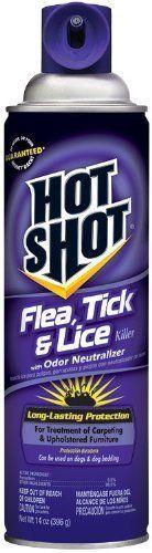 Hot Shot Flea, Tick & Lice Killer With Odor Neutralizer (Aerosol) (HG-2118)... #HotShot