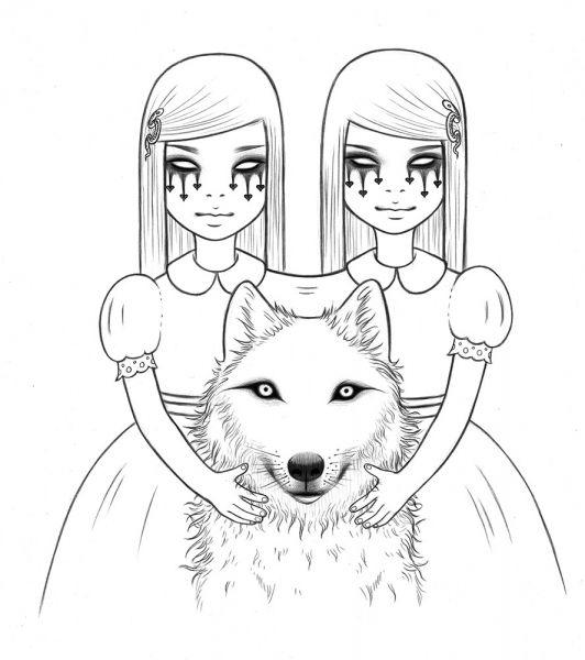 Tara McPherson | ART Drawings Drawings Alkaline Trio Drawing