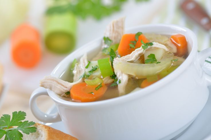 Got the sniffles? Whip up a batch of chicken soup. It really can help clear congestion, relieve a sore throat, keep you hydrated and more.