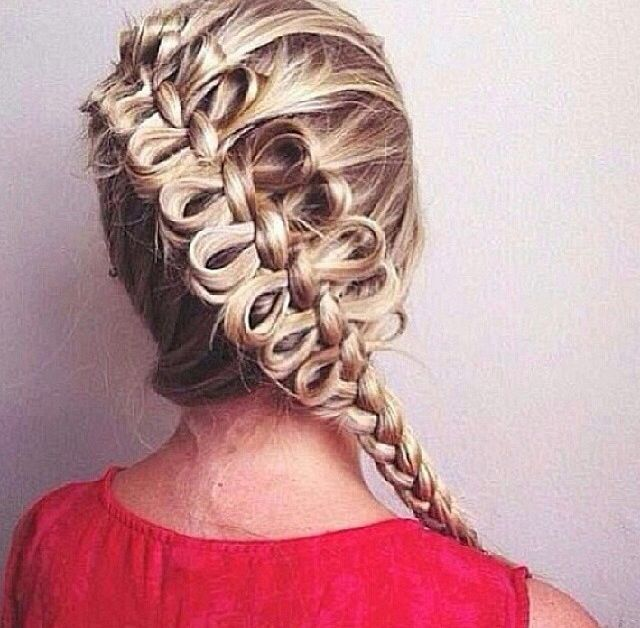Astounding Bow Braid Braids And Bows On Pinterest Hairstyle Inspiration Daily Dogsangcom