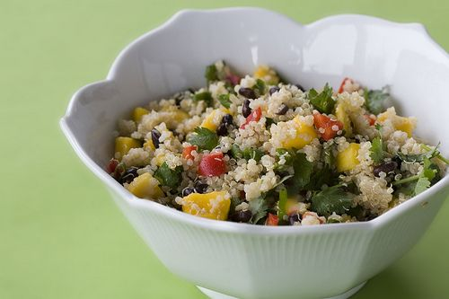 Quinoa Salad With Black Beans & Mango: Punk Kitchens, Vegans Cooking, Posts Punk, Beans Mango, Vegans Baking, Black Beans Salad, Quinoa Salad, Mango Salad, Baking Vegans