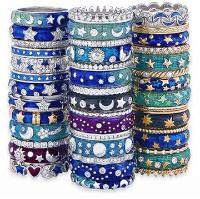 18k Hidalgo stacking rings.  LOVES these rings