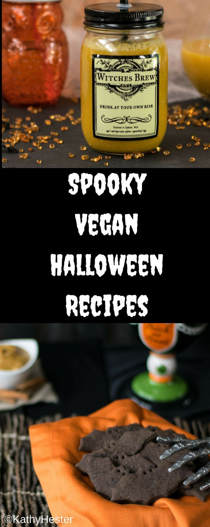 collection of vegan halloween recipes from ghoulish gourmet - Gourmet Halloween Recipes
