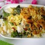 diwali recipes – dum mushroom biryani, dinner for diwali, diwali meal recipes
