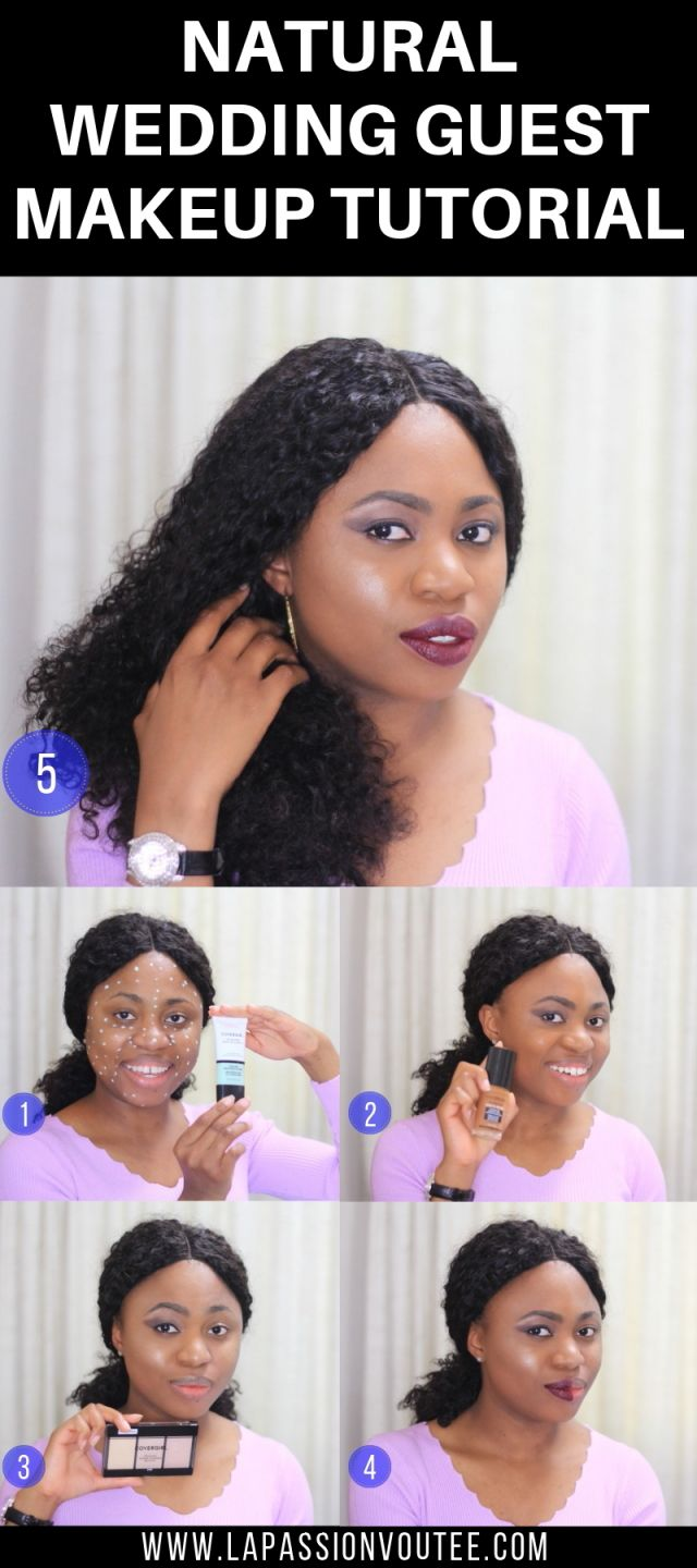 Flattering Natural Wedding Guest Makeup Tutorial Covergirl